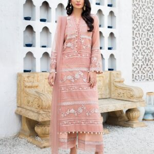 Printed & Embroidered Lawn